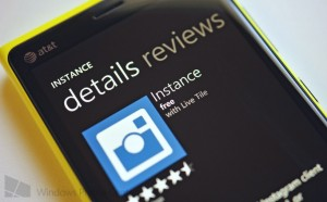 Instance for Windows Phone