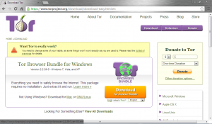 Tor- Download Page