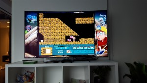 What do you do on a 4K TV ? play 8 bit games !